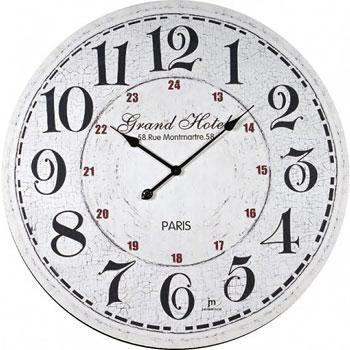 Lowell Настенные часы  Lowell 21433. Коллекция Glass lowell настенные часы lowell 11809g коллекция glass page 3
