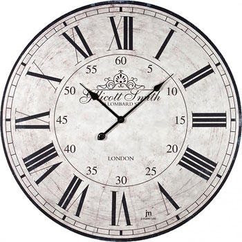 Lowell Настенные часы  Lowell 21434. Коллекция Glass lowell настенные часы lowell 11809g коллекция glass page 3