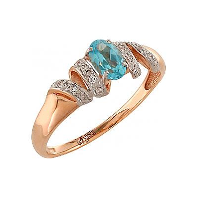 Золотое кольцо Ювелирное изделие 100305