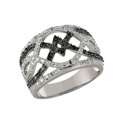 Серебряное кольцо Ювелирное изделие 100903