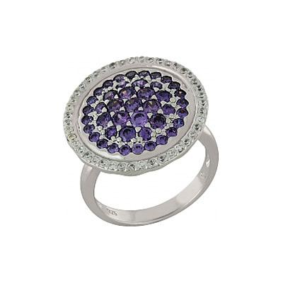Серебряное кольцо Ювелирное изделие 100922 кольцо кюп серебряное кольцо с рубином alm3027003147 16