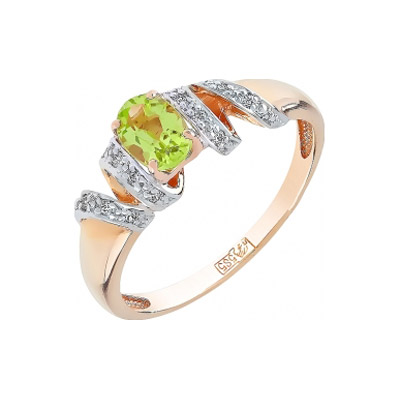 Золотое кольцо Ювелирное изделие 101305