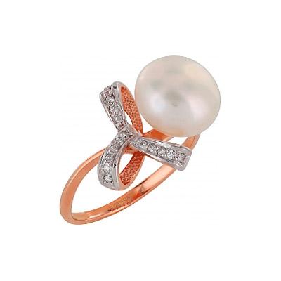 Золотое кольцо Ювелирное изделие 103429 кольцо алмаз холдинг женское золотое кольцо с куб циркониями alm1200203515л 18 5