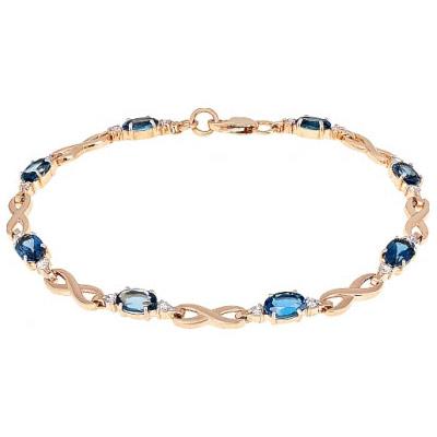 Золотой браслет Ювелирное изделие 103737 браслет soul diamonds женский золотой браслет с бриллиантами buhk 9087 14kw