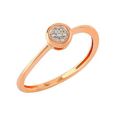 Золотое кольцо Ювелирное изделие 104939 кольцо алмаз холдинг женское золотое кольцо с бриллиантами и рубином alm13237661 19