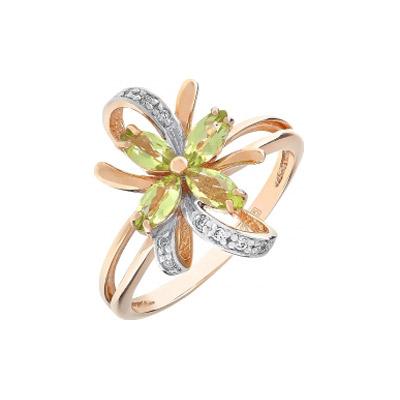 Золотое кольцо Ювелирное изделие 105185 цены