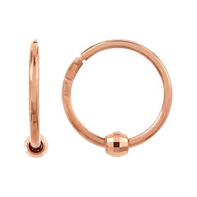Золотые серьги Ювелирное изделие 105252