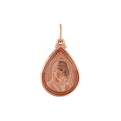 Золотая икона Ювелирное изделие 105430
