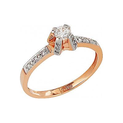 где купить Золотое кольцо Ювелирное изделие 105715 дешево