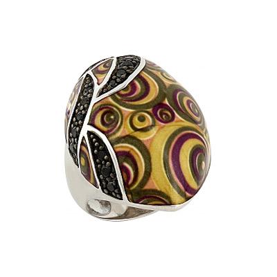 Серебряное кольцо Ювелирное изделие 106175 jv женское серебряное кольцо с куб циркониями sr01924czzsw 1 001 wg 17