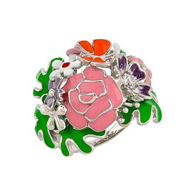 Серебряное кольцо Ювелирное изделие 106184 серебряное кольцо ювелирное изделие 106235