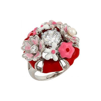 Серебряное кольцо Ювелирное изделие 106208 серебряное кольцо ювелирное изделие 106235