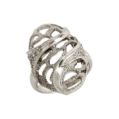 Серебряное кольцо Ювелирное изделие 106235 серебряное кольцо ювелирное изделие 106235