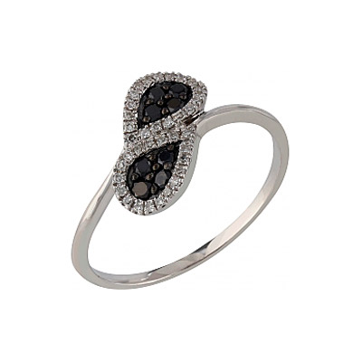 Золотое кольцо Ювелирное изделие 107098 кольцо алмаз холдинг женское золотое кольцо с бриллиантами и рубином alm13237661 19
