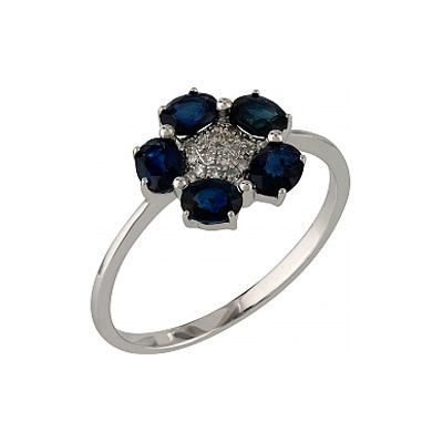 Золотое кольцо Ювелирное изделие 107099 кольцо алмаз холдинг женское золотое кольцо с куб циркониями alm1200203515л 18 5