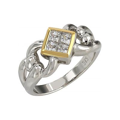 Серебряное кольцо Ювелирное изделие 107284