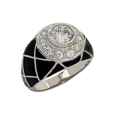 Серебряное кольцо Ювелирное изделие 107286 серебряное кольцо ювелирное изделие 106235