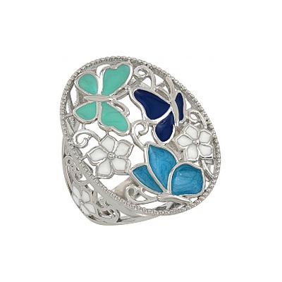 Серебряное кольцо Ювелирное изделие 107328 серебряное кольцо ювелирное изделие 75161