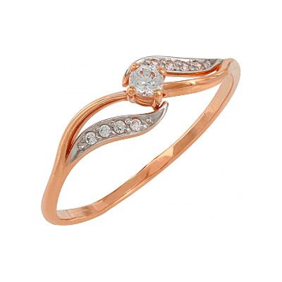 Золотое кольцо Ювелирное изделие 107783 ювелирное изделие mkj5389710