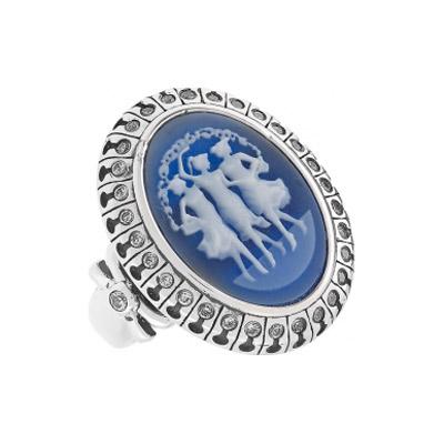 Серебряное кольцо Ювелирное изделие 108437 серебряное кольцо ювелирное изделие 75161