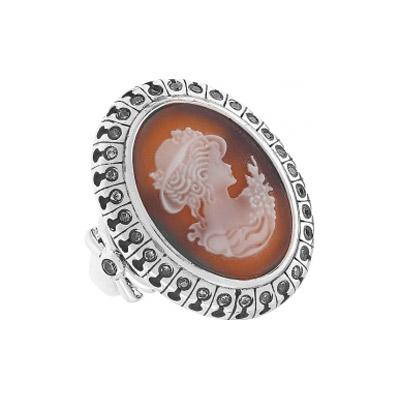 Серебряное кольцо Ювелирное изделие 108438 ювелирное изделие 6344
