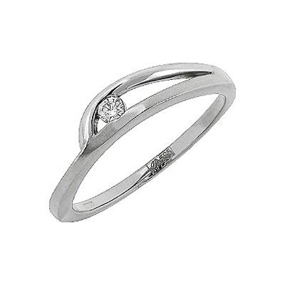 Золотое кольцо Ювелирное изделие 109328 кольцо алмаз холдинг женское золотое кольцо с куб циркониями alm1200203515л 18 5