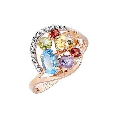 Золотое кольцо Ювелирное изделие 113111