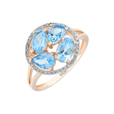 Золотое кольцо Ювелирное изделие 113729