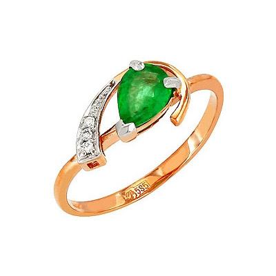 Золотое кольцо Ювелирное изделие 113912