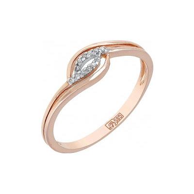 Золотое кольцо Ювелирное изделие 114516 кольцо с цирконом айвори кнцр 7340 отш