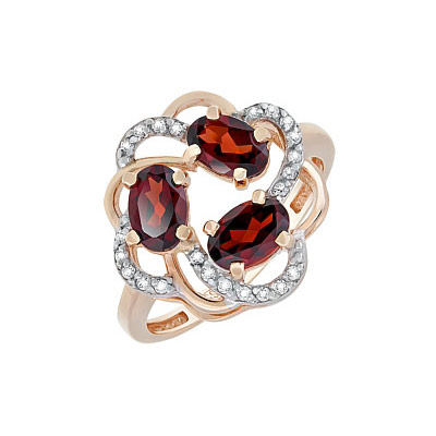 Золотое кольцо Ювелирное изделие 116486