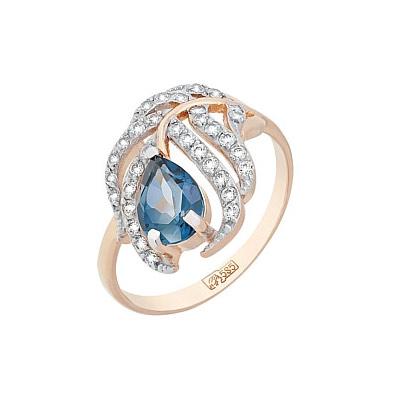 Золотое кольцо Ювелирное изделие 117477