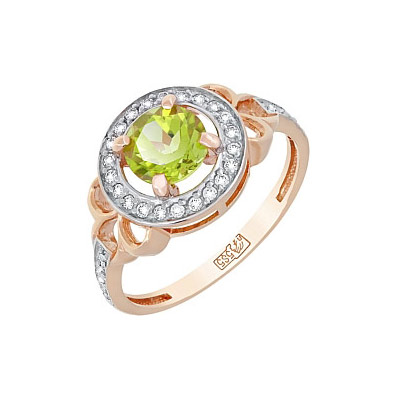 Золотое кольцо Ювелирное изделие 117572