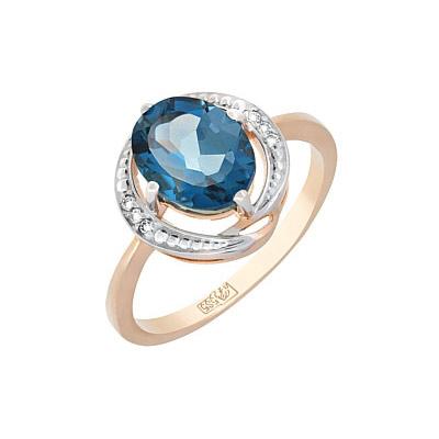 Золотое кольцо Ювелирное изделие 117607