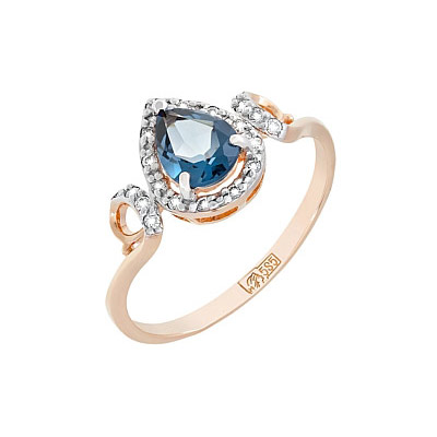 Золотое кольцо Ювелирное изделие 117764
