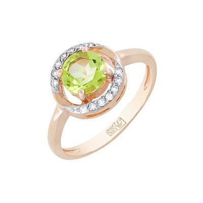 Золотое кольцо Ювелирное изделие 117911