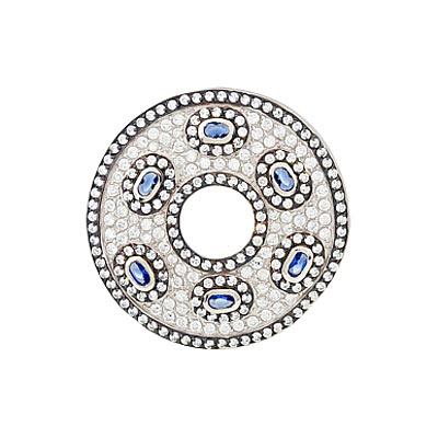 Серебряный подвес Ювелирное изделие 118414 серебряный подвес ювелирное изделие c1321n90e0