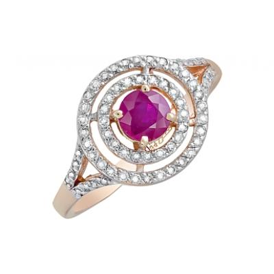 Золотое кольцо Ювелирное изделие 119139