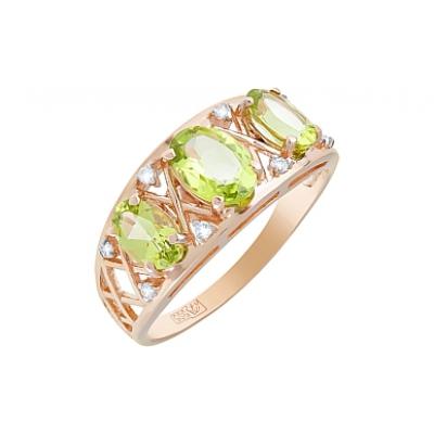 Золотое кольцо Ювелирное изделие 119549