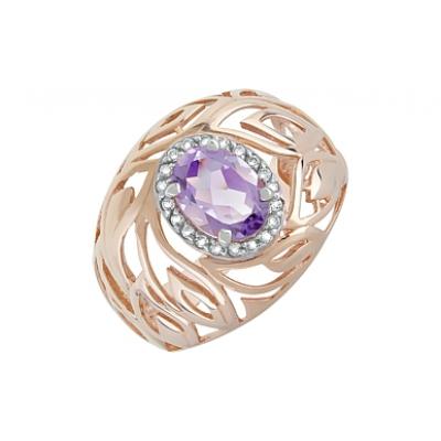 Золотое кольцо Ювелирное изделие 119936 fit 11635