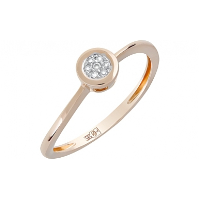 Золотое кольцо Ювелирное изделие 120604