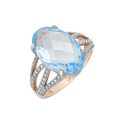 Золотое кольцо  Ювелирное изделие 121057