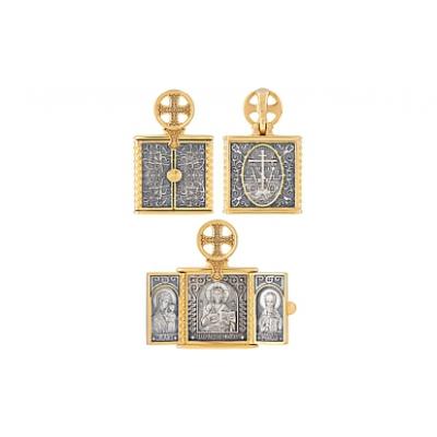 Серебрянная икона Ювелирное изделие 121197 серебрянная икона ювелирное изделие 37386