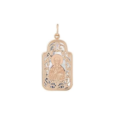 Золотая икона Ювелирное изделие 123484