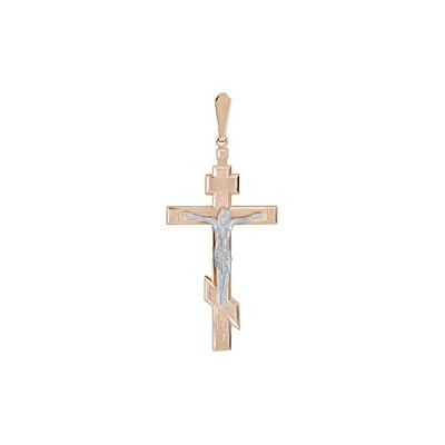 Золотой крест Ювелирное изделие 123625 золотой крест ювелирное изделие 76027
