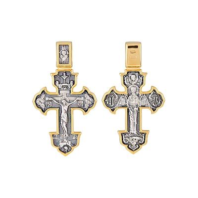 Серебряный крест Ювелирное изделие 123629 серебряный крест ювелирное изделие 101356