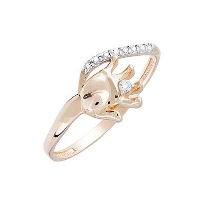 Золотое кольцо Ювелирное изделие 124019