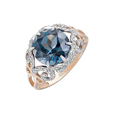 Золотое кольцо Ювелирное изделие 124074