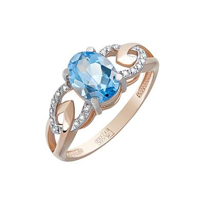 цены на Золотое кольцо Ювелирное изделие 124099 в интернет-магазинах