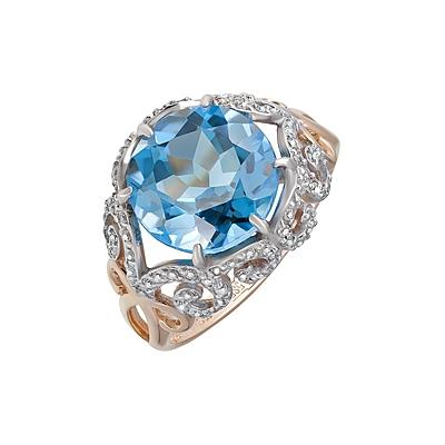 Золотое кольцо Ювелирное изделие 124101 opadiris карат 80 с зеркалом золото